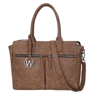 Wimona Catarina Dames Laptoptas cognac