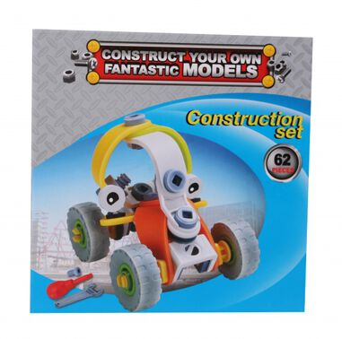 Free and Easy constructieset buggy 62-delig