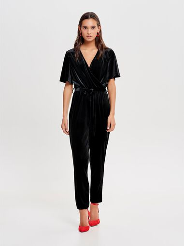 Only Jumpsuit Velours