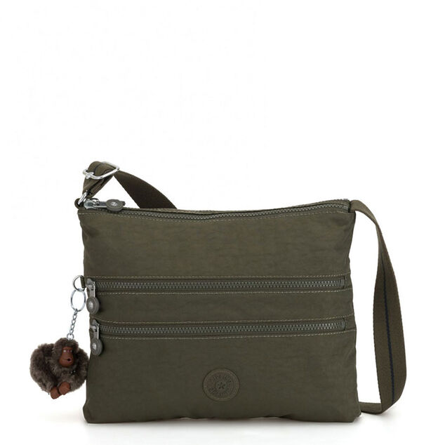 Kipling Alvar Schoudertas Jaded Green C