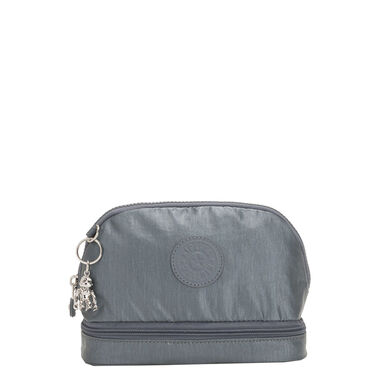 Kipling Multi Keeper BP Toilettas steel grey metal