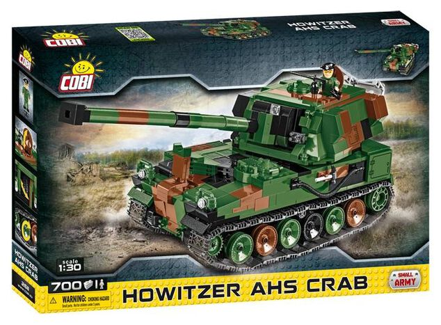 Cobi Small Army Howitzer AHS Crab bouwset 700-delig 2611