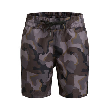 BJÖRN BORG KENNY BOYS SWIM SHORTS BLACK/GREY