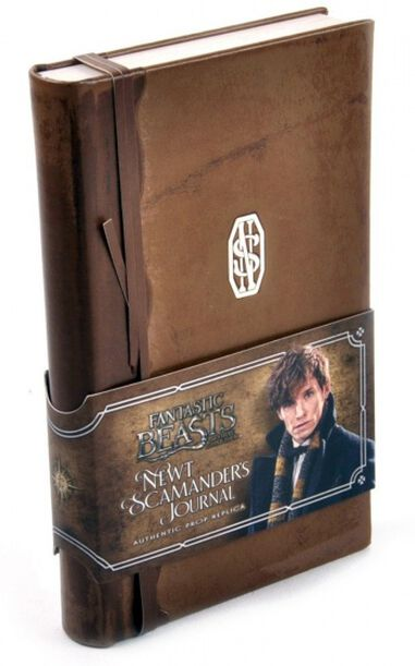 Noble Collection dagboek Fantastic Beasts: Newt Scamander's Journal