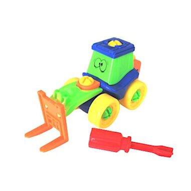 Funny Toys multifunctionele heftruck junior 2-delig