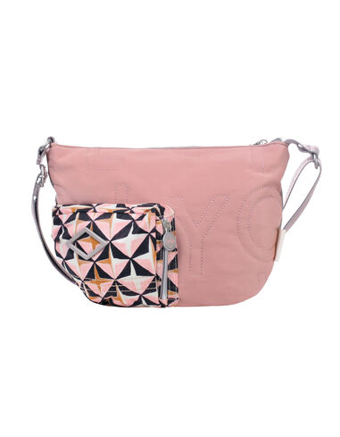Oilily Schoudertas whoopy geometrical rose- roze