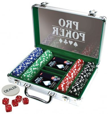 set fiches Pro Poker case 200 chips