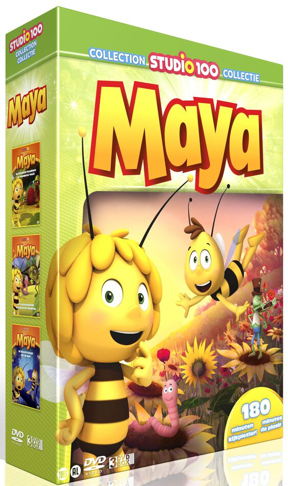 Maya de Bij 3-DVD box - Maya vol. 4