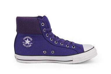 Converse Dames Sneakers CT Fleece Hi Purple Paars