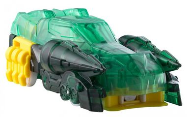 Screechers Wild Level 3 Vehicle - Scorpiodrift 10 cm groen