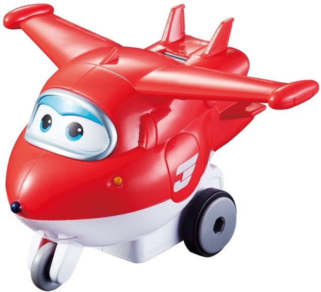 Auldey Super Wings Series 1 Vroom n' Zoom - Jett rood