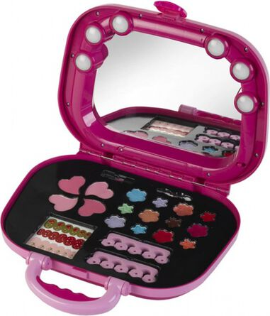 Princess Coralie cosmetics case with light
