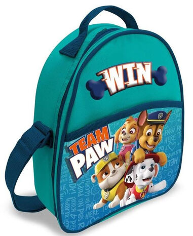 Nickelodeon lunchtas Paw Patrol junior 25 cm PVC/polyester blauw