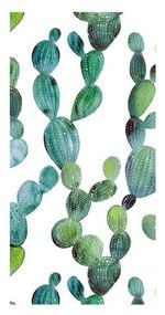 Good Morning strandlaken Cactus 100 x 180 cm groen