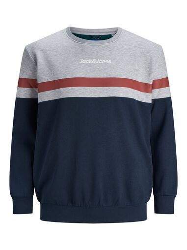 Jack & Jones Plus size sweater Gestreept