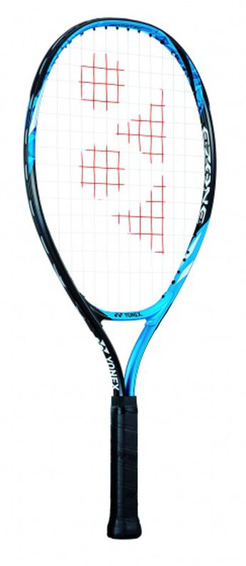 tennisracket EZone 23 junior blauw gripmaat L0