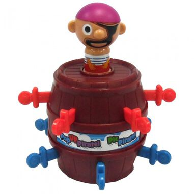 Tomy kinderspel mini-pop-uppiraat
