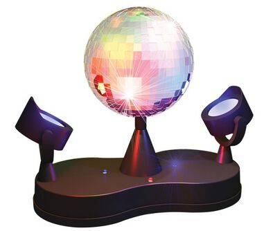 Party FunLights discolamp spiegelbal 25 cm