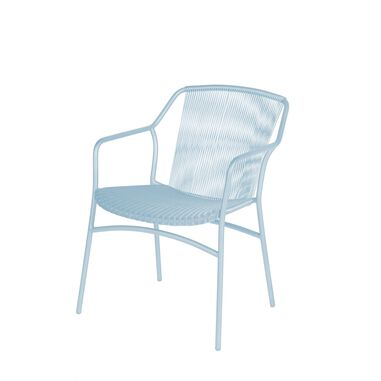 Sophie stacking chair ice blue