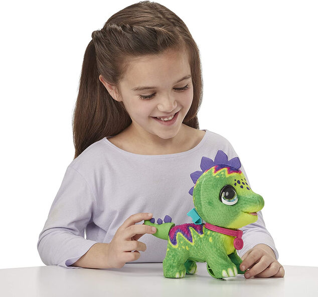FurReal Friends speeldier Walkalots dino 23 cm groen 2-delig