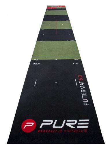 puttingmat golf 65 x 500 cm groen