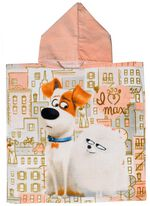 Universal badponcho The Secret Life Of Pets 2 Max junior 50 x 100 cm