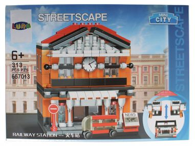 Luna Mini City Streetscape Railway Station bouwset 313-delig (657013)