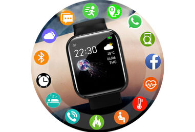Smartwatch dames & heren in de aanbieding