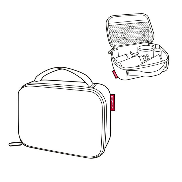 Reisenthel Thermocase Lunchbox - Polyester met aluminium voering - 1.5 L - Rood