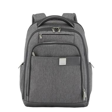 """Titan Power Pack 15"""" Laptop Backpack expandable mixed grey"""