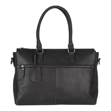 Burkely On The Move Laptopbag Zipper Black 15 inch