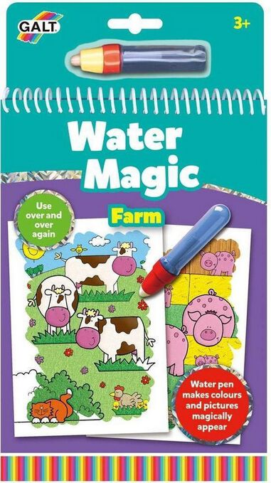 Waterkleurboek Farm