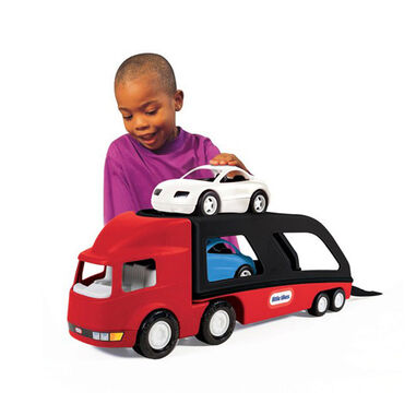 Little Tikes Autotransporter Rood/zwart
