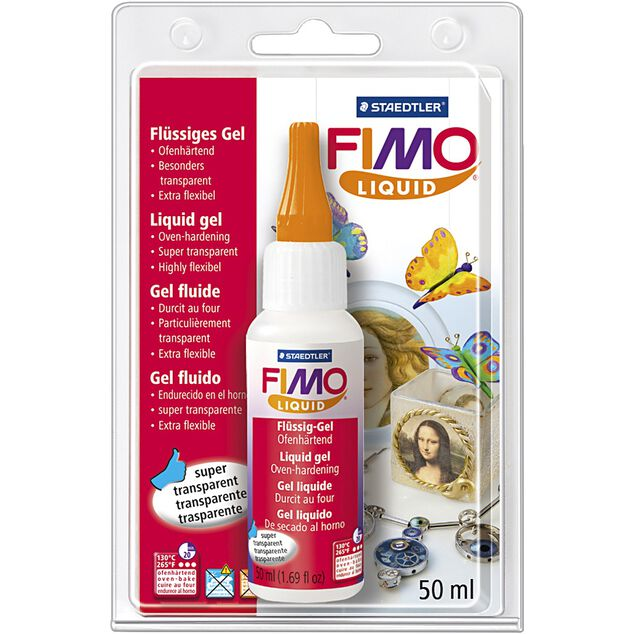 Staedtler Fimo Liquid deco gel 50 ml transparant