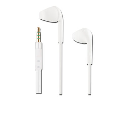 BeHello In-Ear Headphone with Remote 3.5mm White