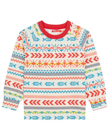 Oilily Hakkel sweater- wit