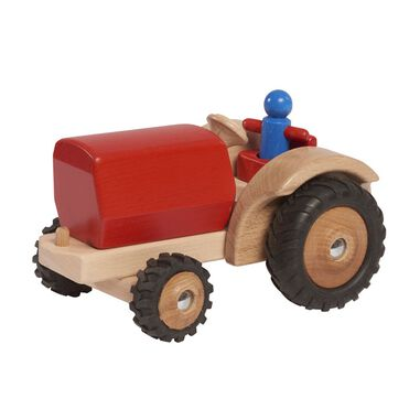 Walter tractor 23,5 cm hout rood