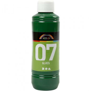 A-Color transparante glasverf 250 ml groen