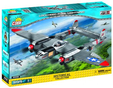 Cobi Historical Collection bouwset Lockheed P-38L 396-delig