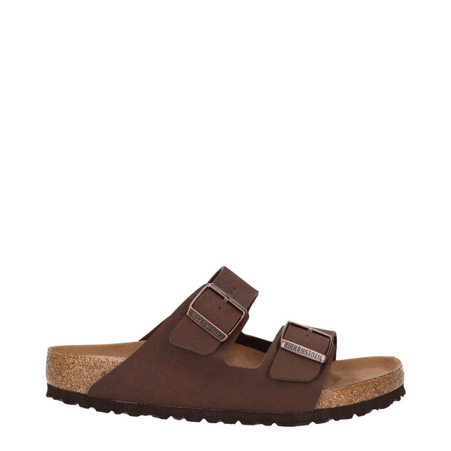 Birkenstock Arizona brown birko-flor vegan regular