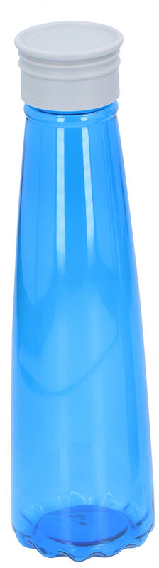Alpina drinkfles 7 x 26 cm Pet 700 ml transparant/blauw