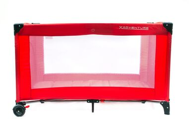 X-Adventure Campingbed Luxe Rood