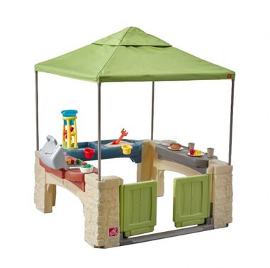 speelhuisje All Around Playtime Patio groen 152 cm