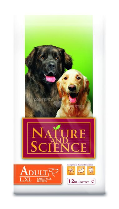Hondenvoer Adult large xl breed Nature and Science