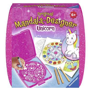 Mandala Designer Mini Unicorn
