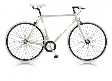 I AM Fixed 28 Inch 53 cm Heren V-Brake Wit