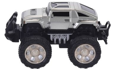 Free and Easy monstertruck grijs 15 cm