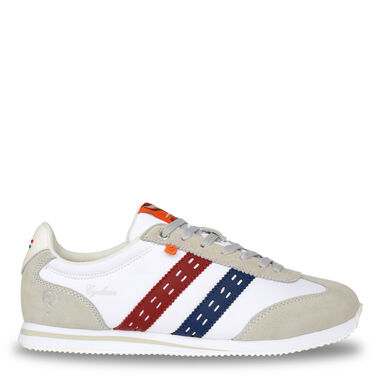 Q1905 Sneaker cycloon wit/rood-blauw