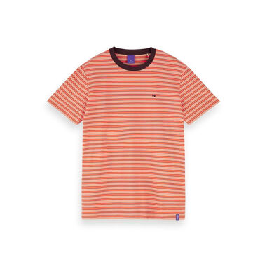 Scotch & Soda Scotch and soda crewneck tee roze