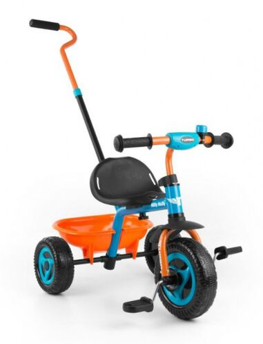 Turbo driewieler Junior Oranje/Blauw